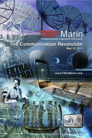 TEDxMarin: The Communication Revolution